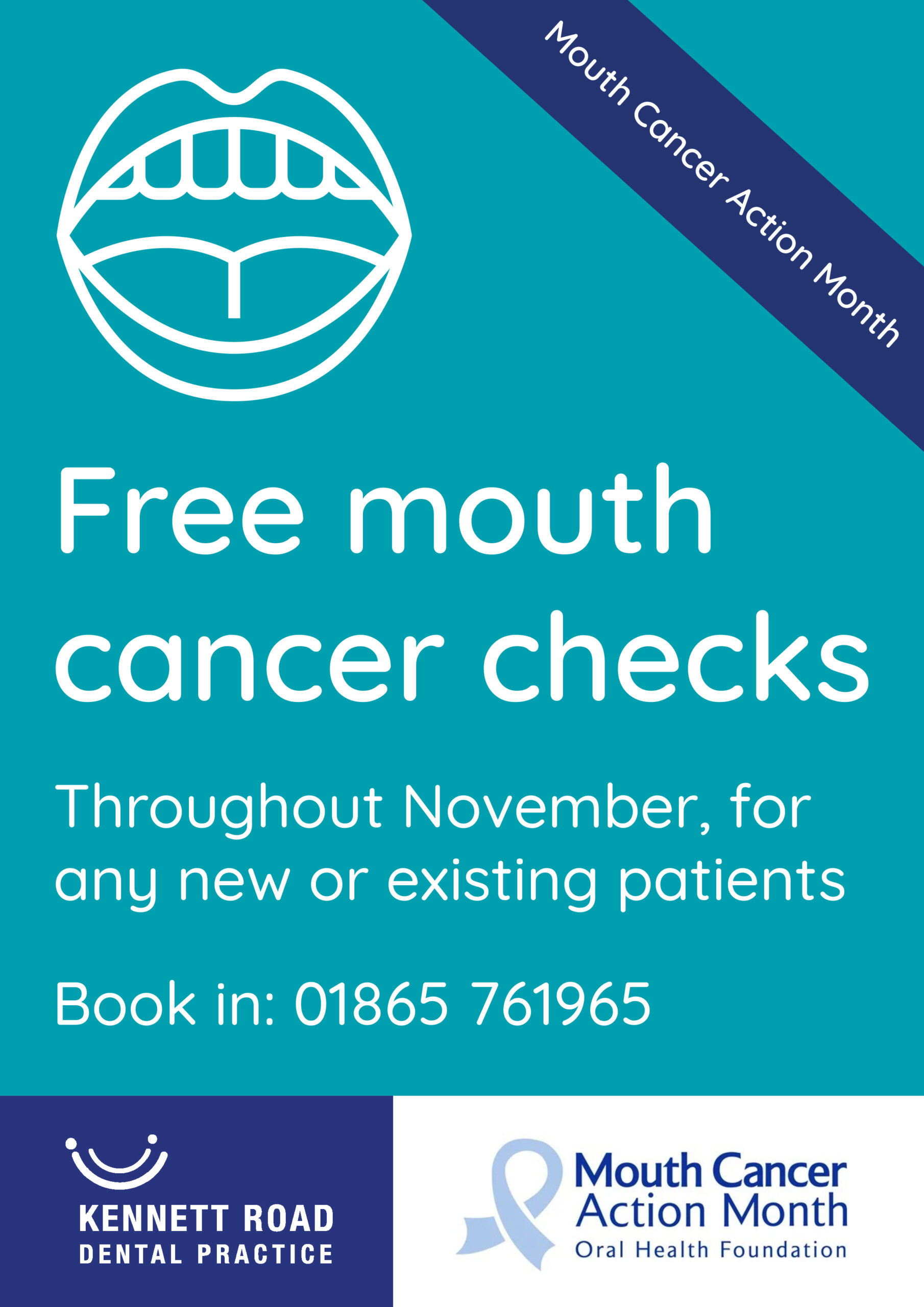 Mouth Cancer Action Month Oxfordshire